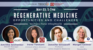 Regenerative Medicine: Opportunities & Challenges (#RegMed18)