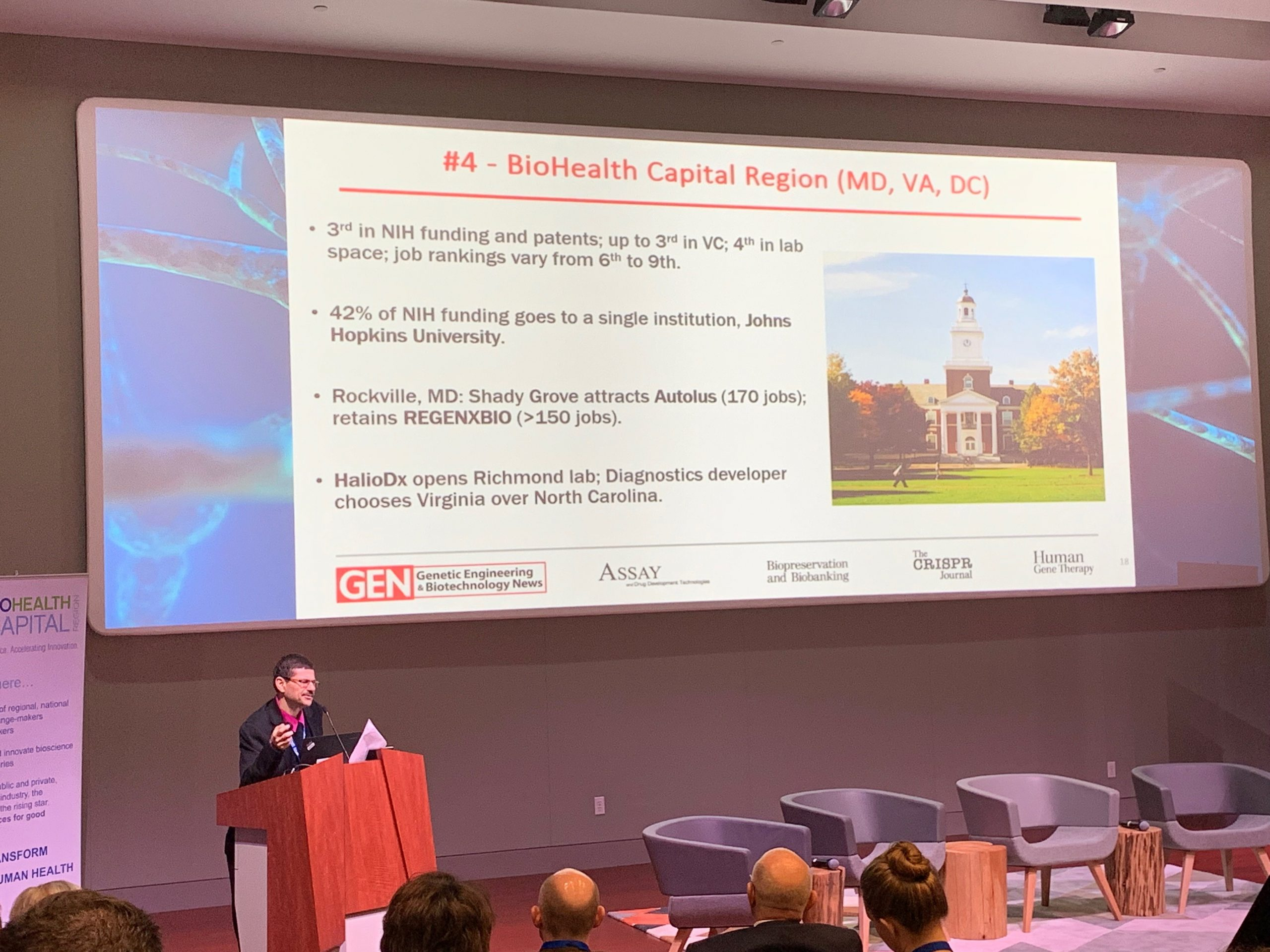 Jean-Charles Soria at 2019 Biohealth Capital Region