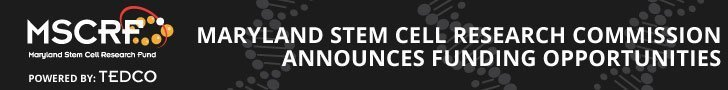 Maryland Stem Cell Research Commission Announces Funding Opportunities