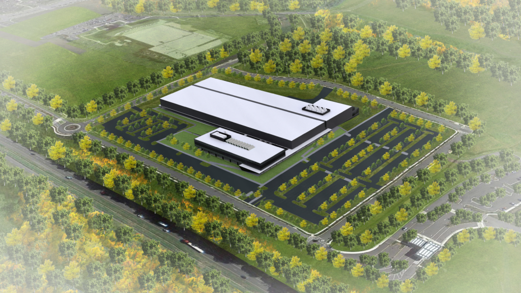 Rendering of Kite, a Gilead Company's, New Cell Therapy Facility to be Built in Urbana, Maryland (located in Frederick County) to produce CAR-T therapies for cancer patients.