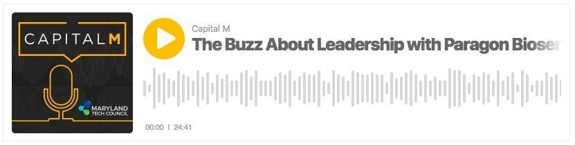 'Capital M' Podcast with Marty Rosendale and guest, Pete Buzy, CEO of Paragon BioServices.