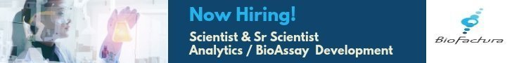 Now Hiring - Scientist Analytics / BioAssay Development at BioFactura