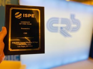 CRB Wins ISPE Company of the Year, Reflecting Region's Continued Cell and Gene Therapy Industry Growth