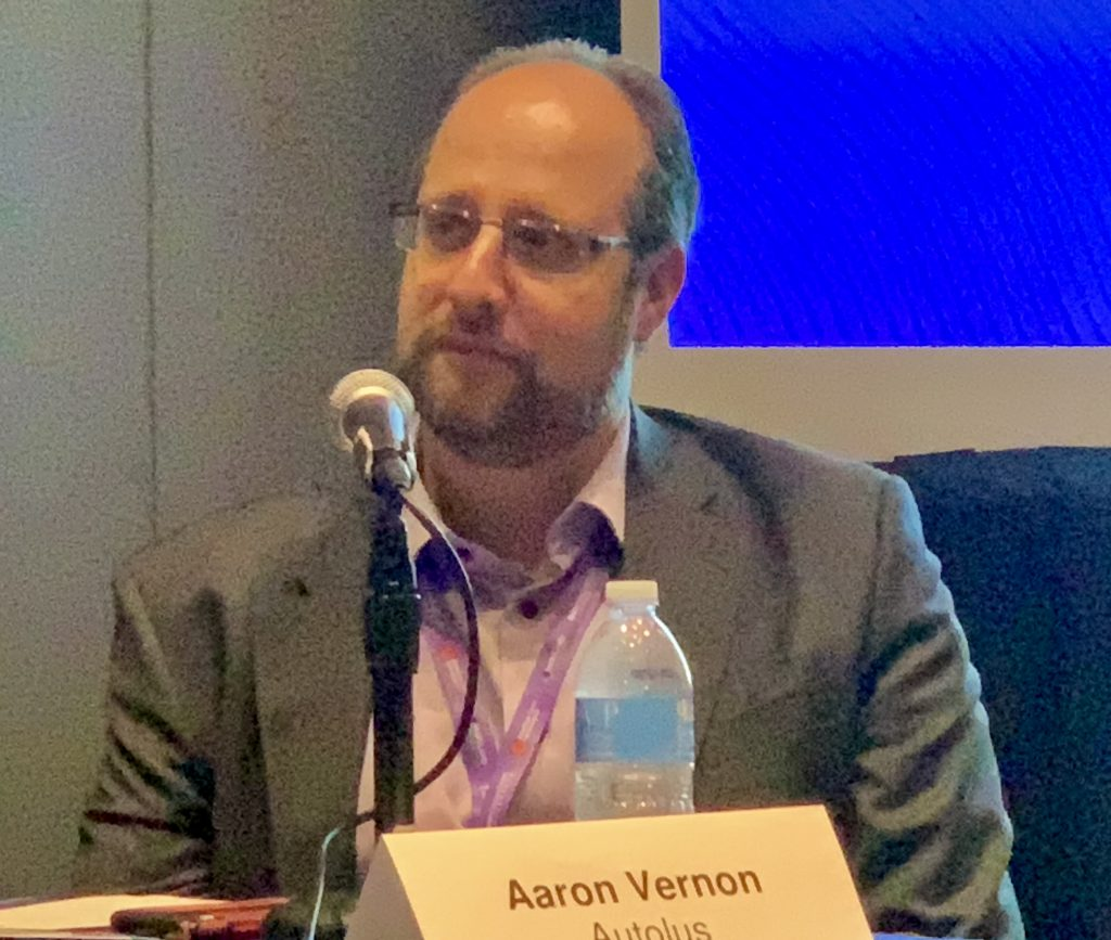 Aaron Vernon, VP of Engineering and Supply Chain at Autolus
