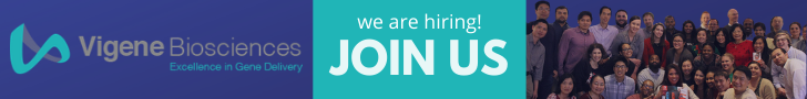 Vigene Biosciences is Now Hiring