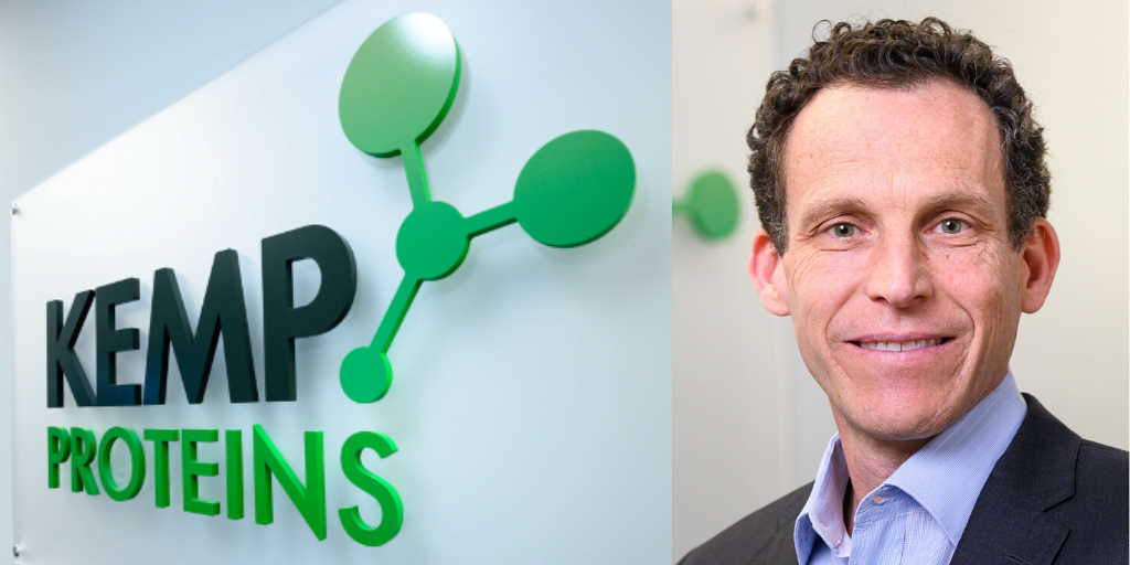 CEO Michael Keefe of Kemp Proteins