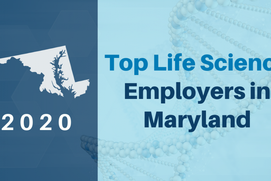 Top Life Science Employers in Maryland, 2020