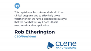 Clene Nanomedicine Aims to be the 'Gold Standard' in Neurodegenerative Disease