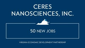 Ceres Nanosciences Expands Footprint, Capabilities with New Manufacturing Plant