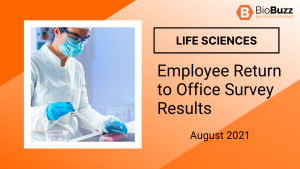 Life Sciences Employee Return to Office Survey Results | August 2021