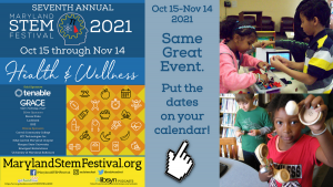 Annual Month-Long Festival to Celebrate STEM Across Maryland